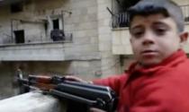 Copil soldat din Siria