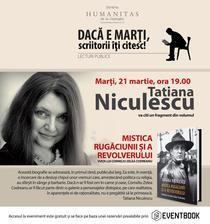 Lectura publica cu Tatiana Niculescu