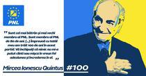 Mircea Ionescu Quintus a implinit 100 de ani