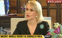 Gabriela Firea la RTV
