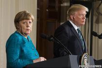 Angela Merkel si Donald Trump