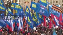 Rusii au sarbatorit 3 ani de la anexarea Crimeii