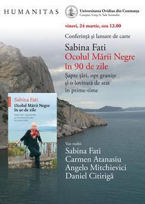Sabina Fati: Ocolul Marii Negre in 90 de zile.