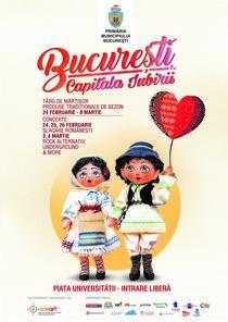 Afis Bucuresti, capitala iubirii