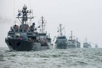 Nave militare romanesti in Marea Neagra