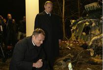 Tusk si Putin la Smolensk