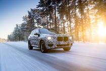 Noul BMW X3 camuflat
