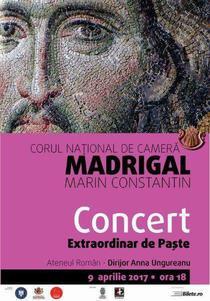 Corul Madrigal la Ateneul Roman