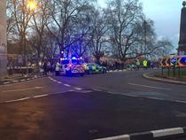 Atac langa Parlamentul din Londra