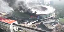 Incendiu la stadionul celor de la Shanghai Shenhua