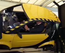 Simulator de rostogolire cu masina