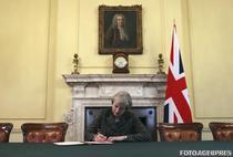 Theresa May declanseaza Brexitul