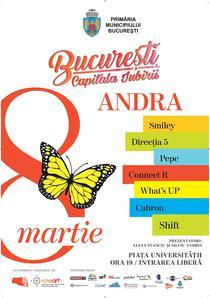 Concert de 8 Martie la Bucuresti