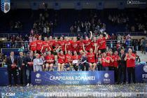 CSM Bucuresti, campioana Romaniei pentru a treia oara consecutiv