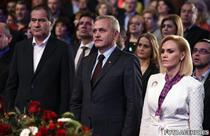 Firea si Dragnea la un miting politic gazduit de Excelsior