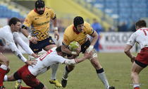 Victorie pentru echipa de rugby a Romaniei