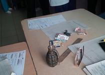Un pacient a venit la spital cu o grenada