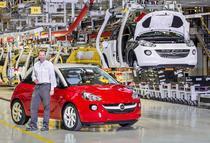 Intr-o uzina Opel