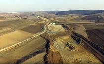 Autostrada A3 in constructie langa Targu Mures