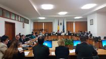 Imagine din timpul lucrarilor de marti dupa amiaza ale Comisiei de buget din Camera