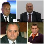 Claudiu Florica, Calin Tatomir, Gabriel Sandu si Dinu Pescariu