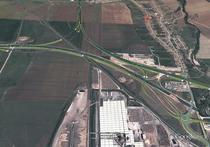 Nodul rutier de la Sebes intre autostrazi A10 si A1