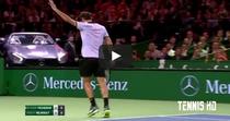 Roger Federer, imperial si in meciurile demonstrative