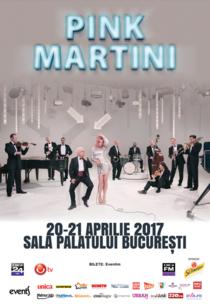 Pink Martini la Bucuresti 2017