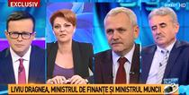 Liviu Dragnea, Viorel Stefan si Olguta Vasilescu, la Antena 3