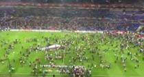 Tensiuni intre suporterii francezi si turci