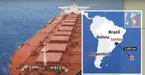 Vas cargo disparut in sudul Atlanticului