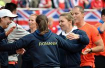 Bucuria echipei de FedCup a Romaniei