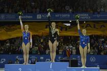 Catalina Ponor si Larisa Iordache, pe podium la CE de Cluj-Napoca