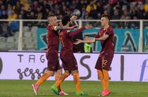AS Roma, victorie cu Pescara