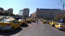 Taximetristi in Piata Victoriei