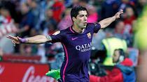 Luis Suarez, inca un gol pentru Barcelona