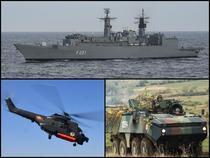 Inzestrarea Armatei - fregate, torpile si transportoare