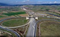 Viaductul Gilau - bucata lipsa dintre loturile de autostrazi de langa cluj Napoca