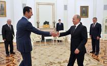 Putin il sprijina pe Assad
