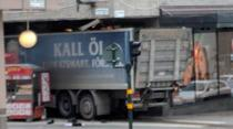 Un camion a intrat in pietoni in Stockholm