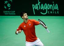 Novak Djokovic, invingator in Cupa Davis