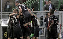 AC Milan, victorioasa in partida cu Palermo