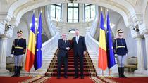 Klaus Iohannis si Jean-Claude Juncker