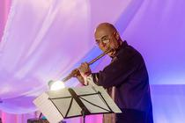 Flautistul Ion B Stefanescu: foto Madalin Anca