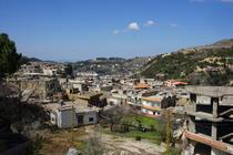 Vedere de pe terasa colii - Liban