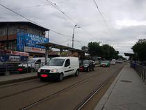 Masini care blocheaza tramvaiul pe Sos. Colentina