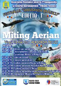 Miting Aerian Tecuci 2017