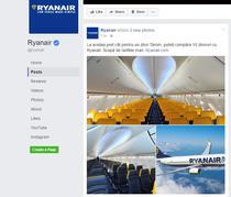 Ryanair, trolling la adresa Tarom