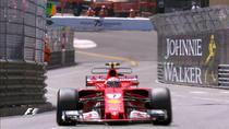 Kimi Raikkonen, pe strazile din Monte Carlo