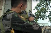Armata filipineza lupta cu rebeli musulmani